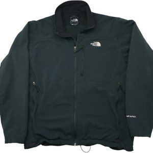 The North Face Black Bionic Apex Jacket AMVY